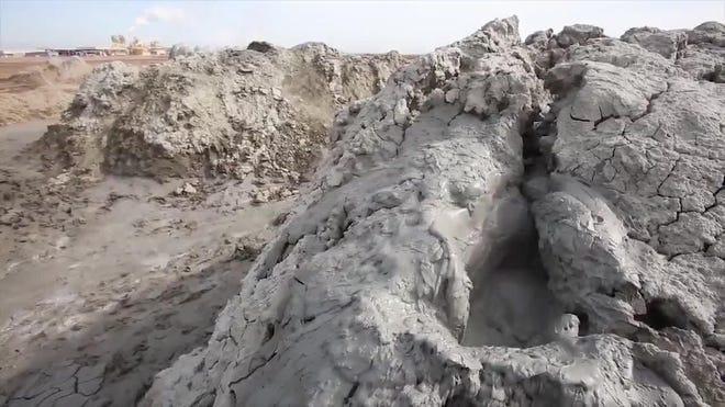 Video Mud Volcanoes At The Salton Sea
