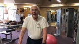Richard Niess doesn't let his age stop him. He makes his way to the gym two times a week to stay active.