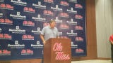 Ole Miss coach Matt Luke spoke on Thursday previewing what he expects from the Rebels when fall camp starts on Friday.