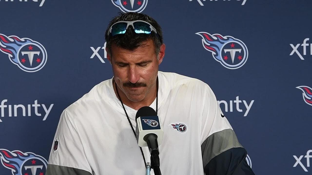 2357ff37 Mike Vrabel and Titans are ready for Nissan Stadium scrimmage