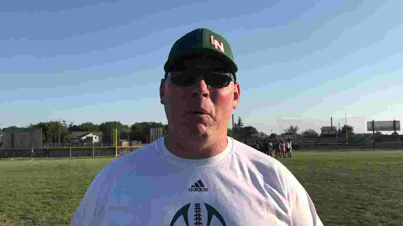 3cfee5fd Lawrence North coach Pat Mallory