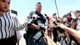 El Paso Police Sgt. Robert Gomez speaks about mass shooting at Cielo Vista Mall Walmart on Saturday, Aug. 3, 2019.