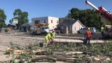 The National Weather Service confirmed an EF-0 tornado touched down Wednesay near East Mason and Cass streets in Green Bay.