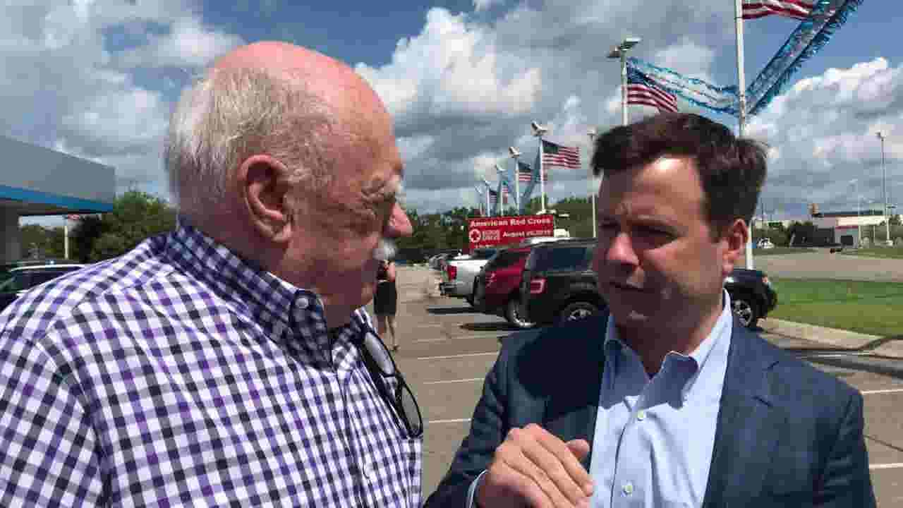 Farmington Hill war veteran gifted new car through Twitter giveaway