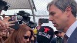 Beto O'Rourke cruza a Cd. Juárez para asistir a funerales de víctimas del tiroteo, y de paso reunirse con autoridades de dicho estado