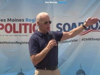 Biden on Soapbox: 'I've been around a long time'