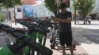 Atlanta is banning electric scooters in the nighttime hours during what's been a deadly summer for riders. The ban will be from 9 p.m. until 4 a.m.