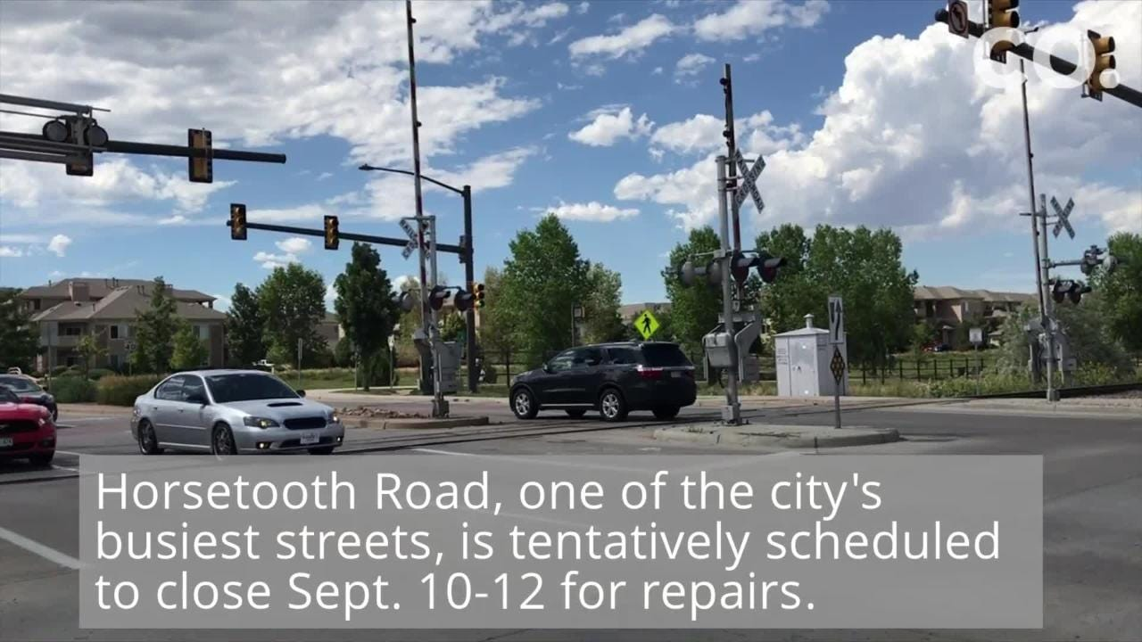 Railroad crossing closures planned in Fort Collins