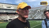 Hear what Iowa's head coach had to say about the practice, the progress, Toren Young, the kickers and backup QBs.