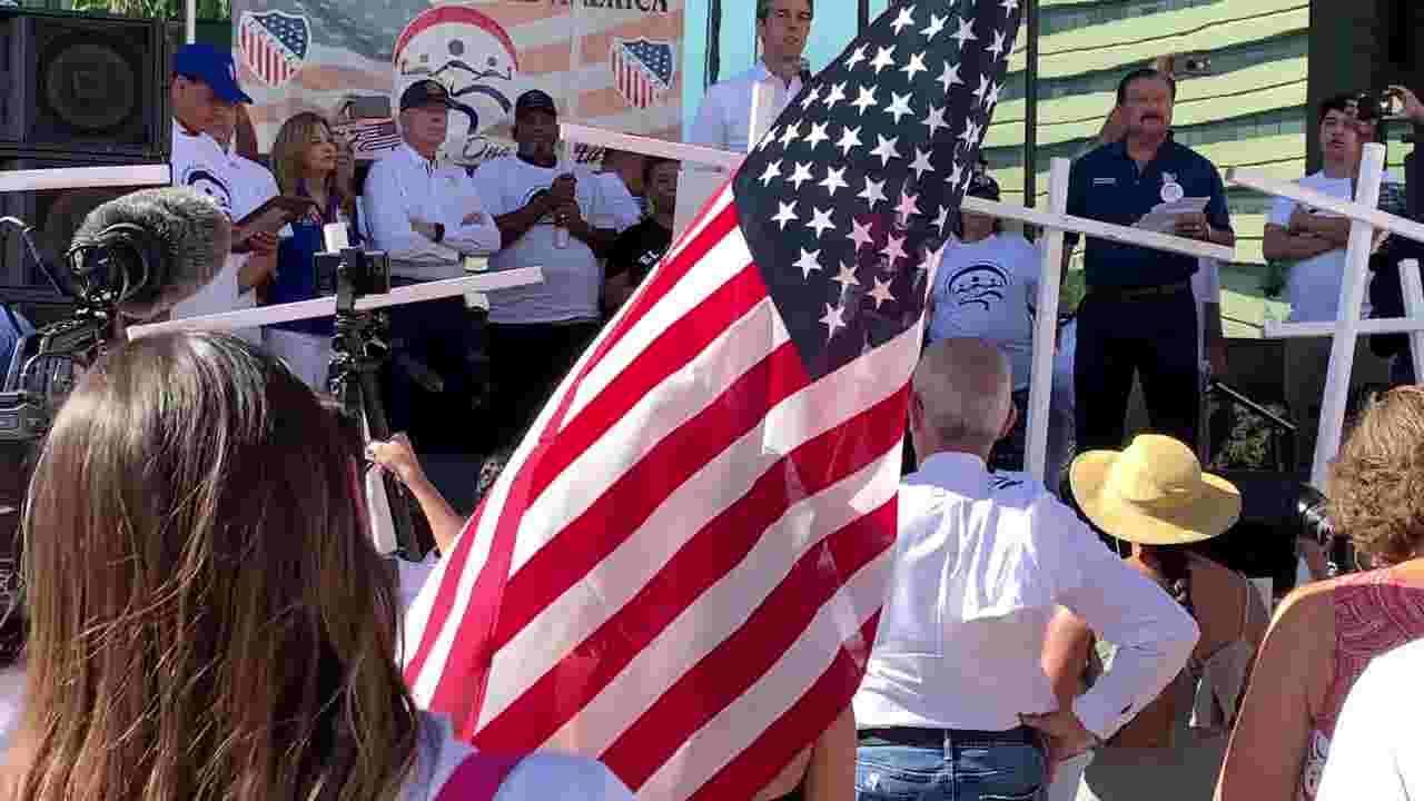 El Paso Walmart shooting: Beto O' Rourke decries Trump rhetoric at march