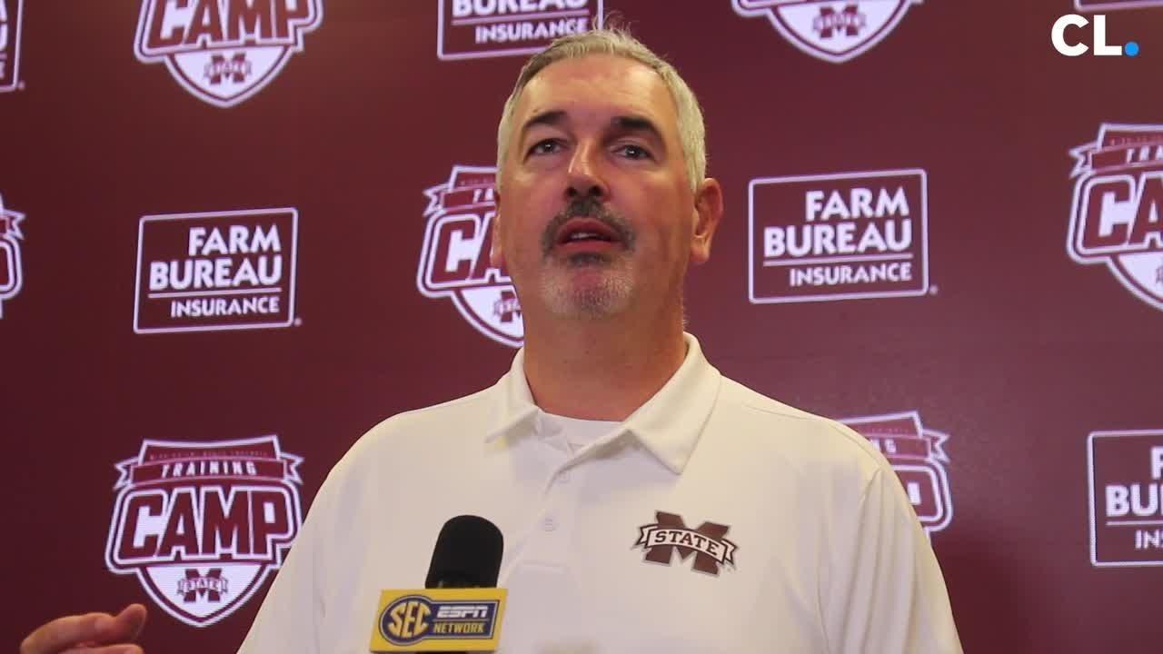 MSU Media Day: Joe Moorhead on freshman class and his experienced coaching  staff