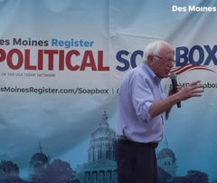 Bernie Sanders on the Register's Political Soapbox calls President Trump 'a pathological liar'
