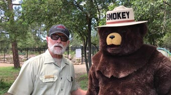 A 75th celebration for Smokey Bear and how a fire prevention and safety campaign began decades ago.
