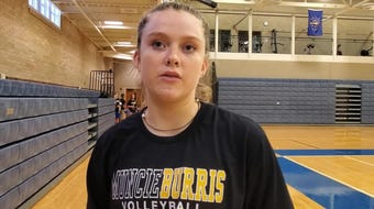 Muncie Burris senior Mara Perry discusses how this offseason has been unique with Steve Shondell back at head coach.