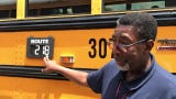 Leon County Schools bus driver James Howard explains the district's new bus routing system that's confused parents and students in the new school year