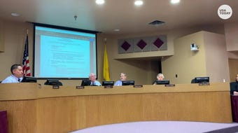 The Las Cruces School Board on Tuesday, Aug. 13, 2019, accepted the resignation of Superintendent Gregory Ewing, effective Sept. 9.