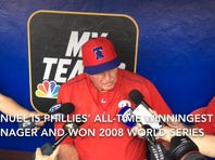 Former skipper Manuel discusses return to Phillies as hitting coach