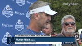 Indianapolis Colts coach Frank Reich says team had a 'clean day' of practice with the Browns.