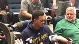 Notre Dame safety Alohi Gilman on the Mauna Kea protest and the willingness of his teammates to join the social media push