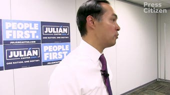 Hear from Julián Castro on his reaction to the comments made by U.S. Rep. Steve King, R-Iowa, regarding rape and incest, Aug. 14, 2019.