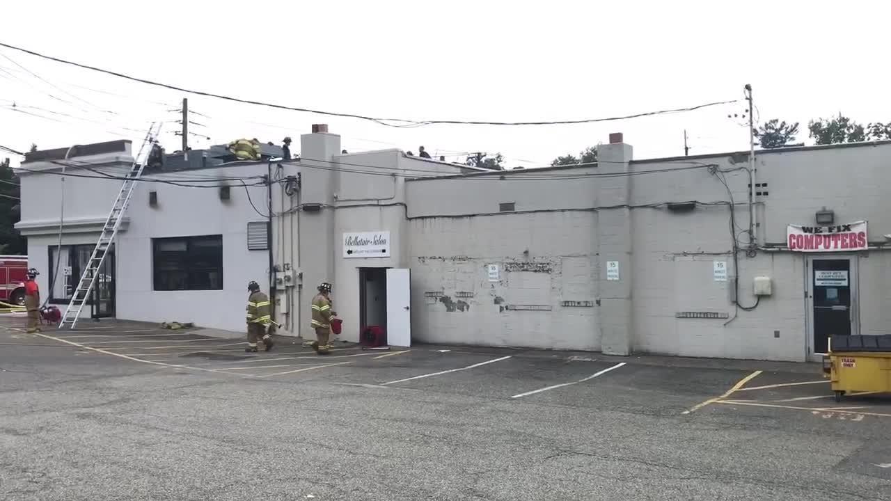 Chinese restaurant New Kitchen in Cedar Grove NJ catches fire