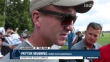 Former Indianapolis Colts quarterback Peyton Manning gives his assessment of this year's team.