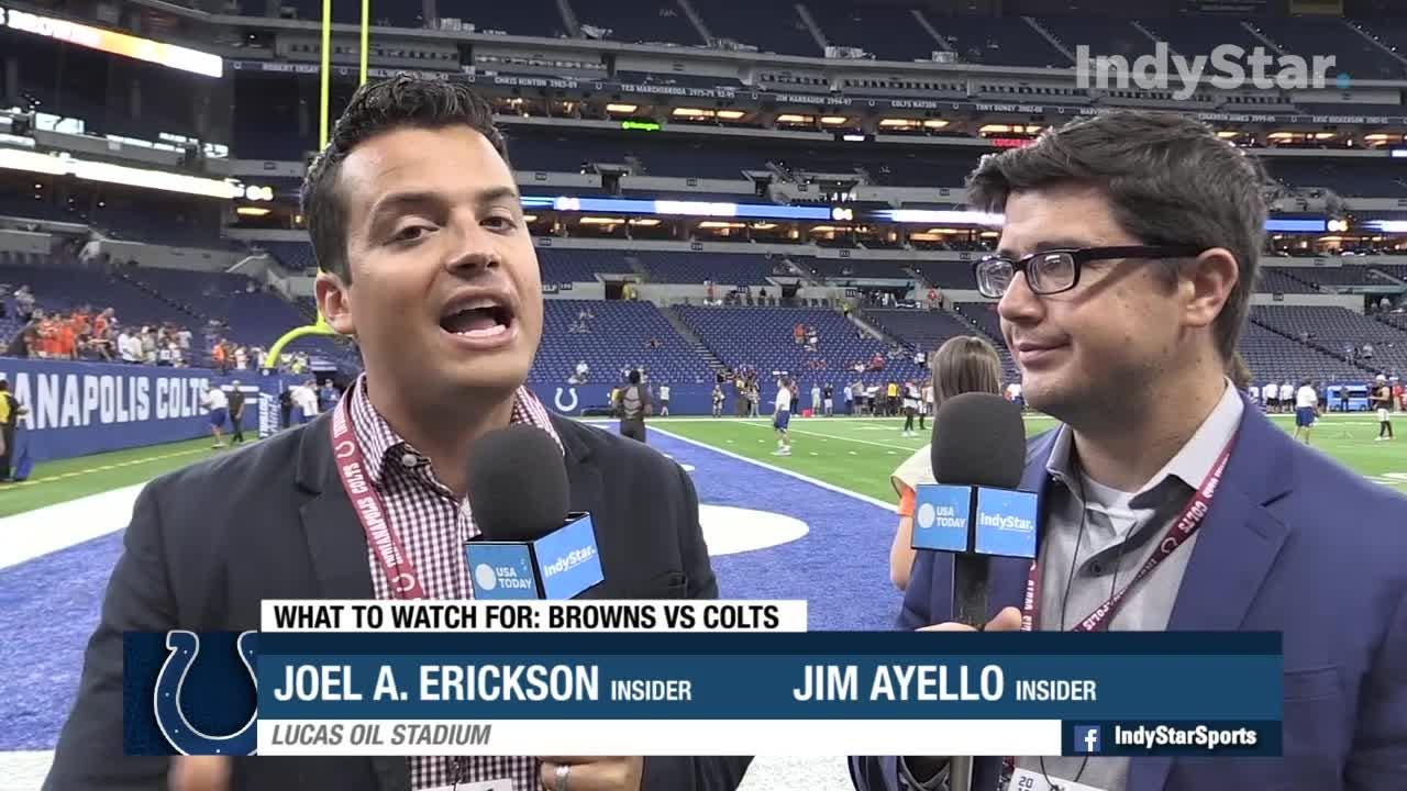 Browns vs  Colts: What to watch for