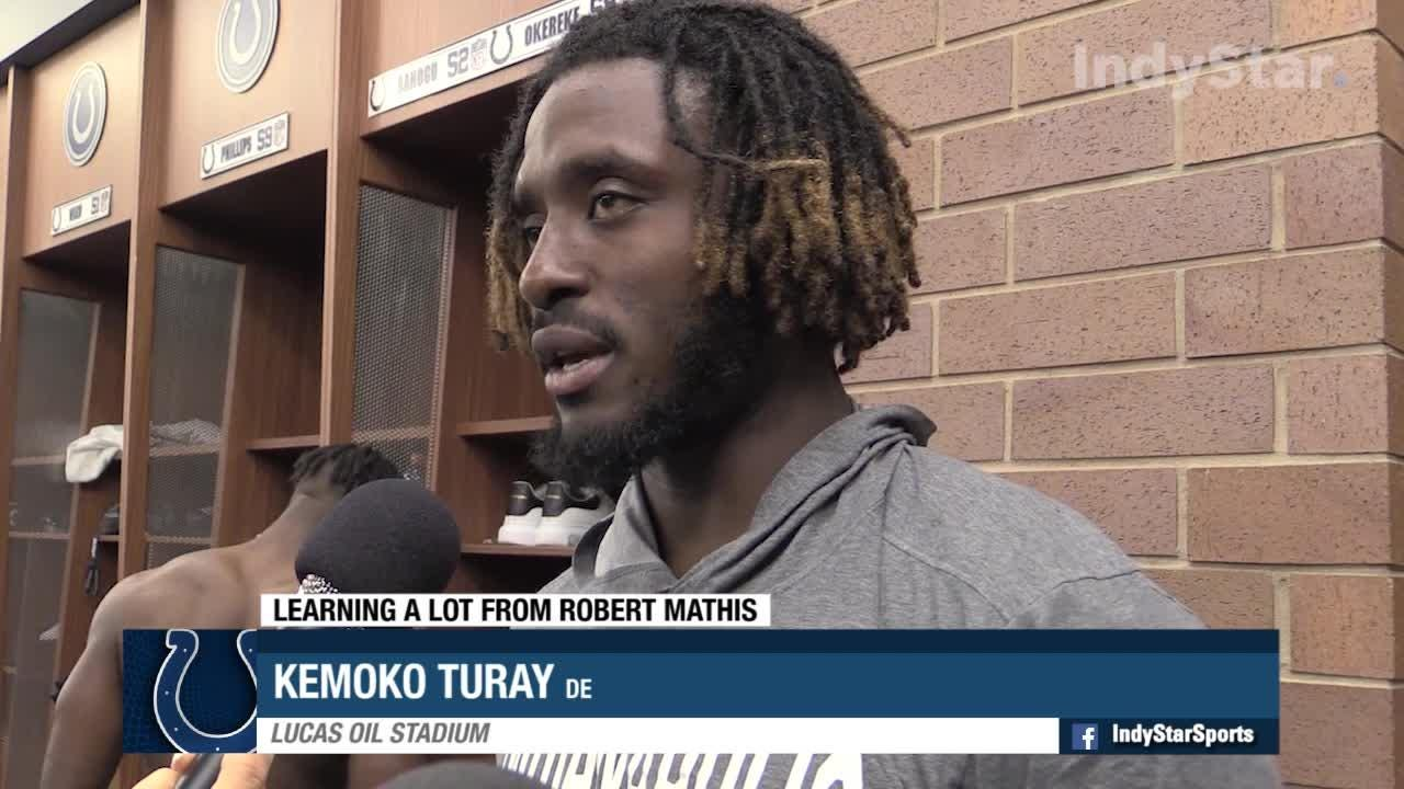 Colts' Turay learning from the best