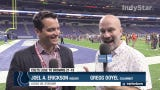 Insider Joel A. Erickson and columnist Gregg Doyel discuss the Colts losing to Browns, Luck running drills prior to game.