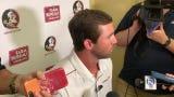 FSU offensive coordinator Kendal Briles speaks at media day