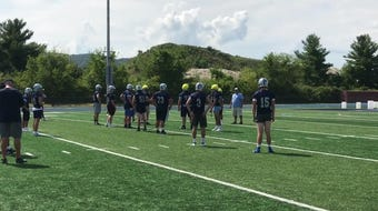 The John Jay-East Fishkill High School football team chats about the upcoming year.