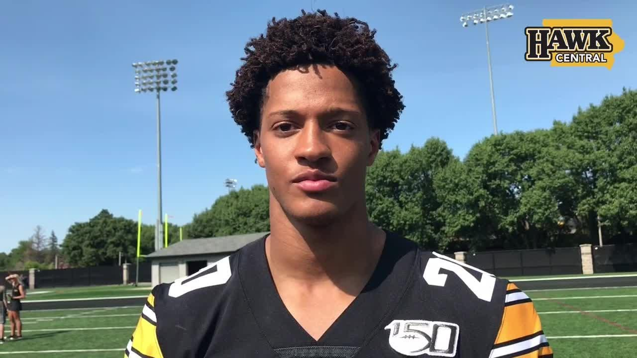 Julius Brents explains what it takes to be great at Iowa
