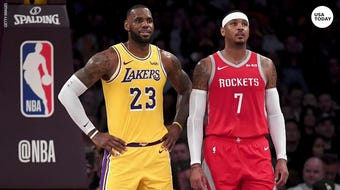 Royce White believes Carmelo Anthony's absence from the NBA is not bad luck on the veteran's part, but intentional.