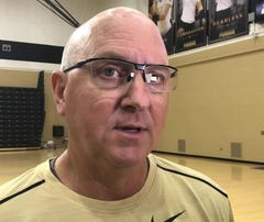 Purdue volleyball coach Dave Shondell discusses the No. 17 Boilermakers.