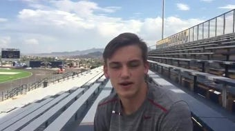 Coronado football player Davis Burns  has had a major impact on the program in now his 2nd year with the Thunderbirds