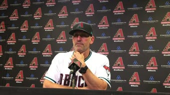Diamondbacks manager Torey Lovullo talks about his team's win over the Rockies.