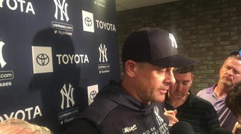 Yankees manager Aaron Boone on Domingo German's start, after Oakland's 6-2 win on Tuesday night