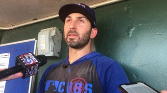 Daniel Descalso talks about landing on the injured list and how things are going in his rehab stint with the Iowa Cubs.