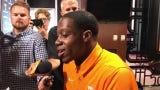 Tennessee wide receiver Josh Palmer had 23 receptions for 484 yards last season.