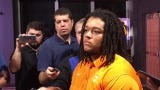 Tennessee's Marcus Tatum discusses the offensive line.
