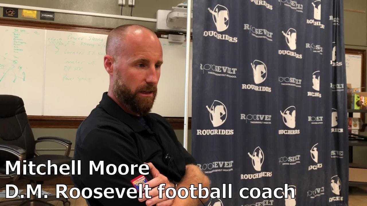 Des Moines Roosevelt football begins anew again — this time, with former Hawkeye, Cyclone players on staff