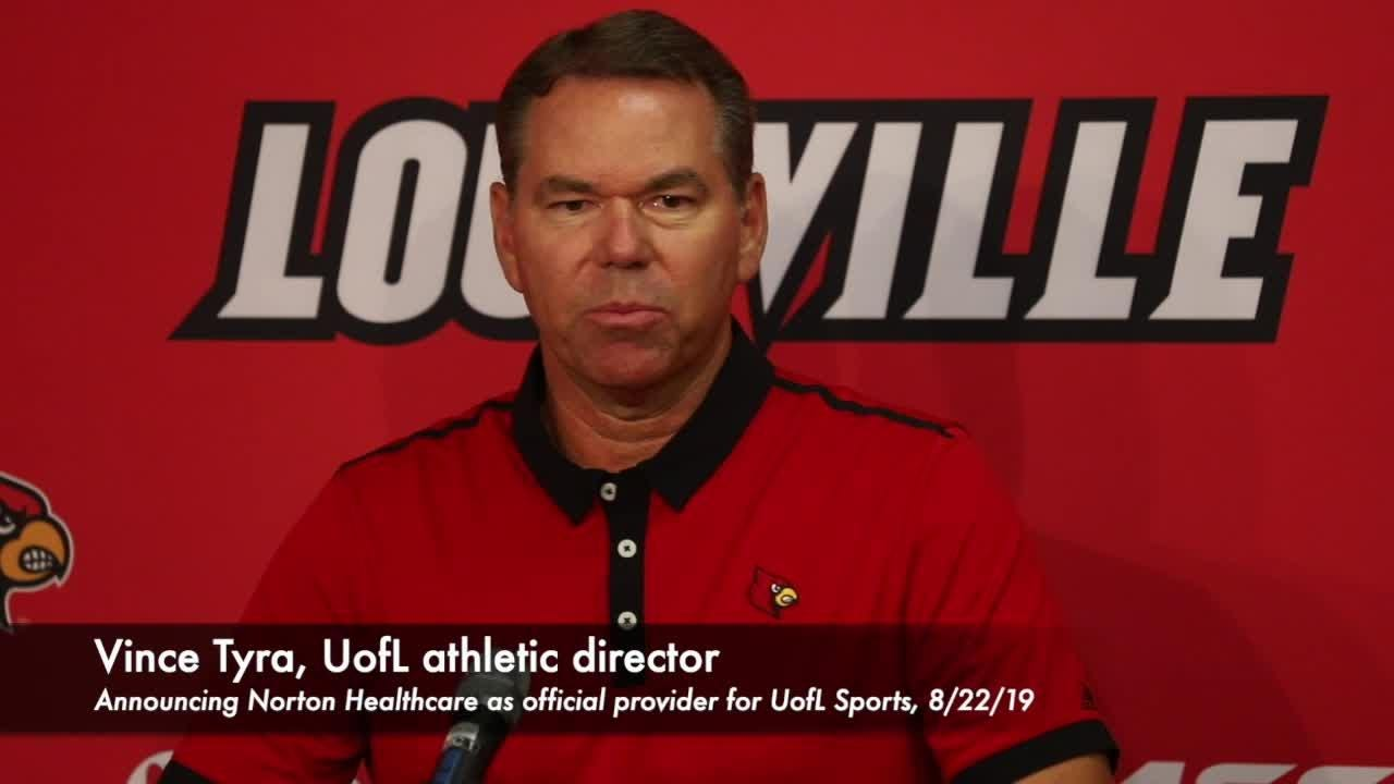 Louisville athletic director talks Norton Healthcare partnership
