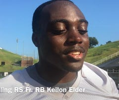 Grambling freshman RB Elder talks getting his first collegiate start