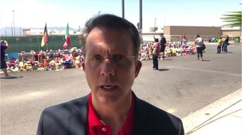 Jeffrey Dion, National Compassion Fund executive director, talks about starting the process to get money to victims of the El Paso mass shooting.