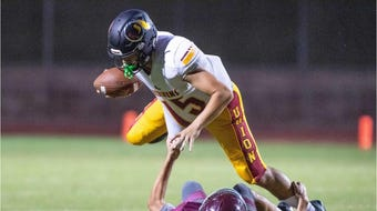 Tulare Union kicked off the 2019 season against Mt. Whitney on Aug. 23, 2019.