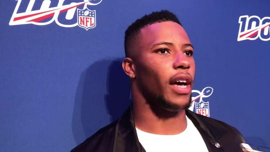 Barry Sanders: Giants RB Saquon Barkley destined to be 'one of the greats'