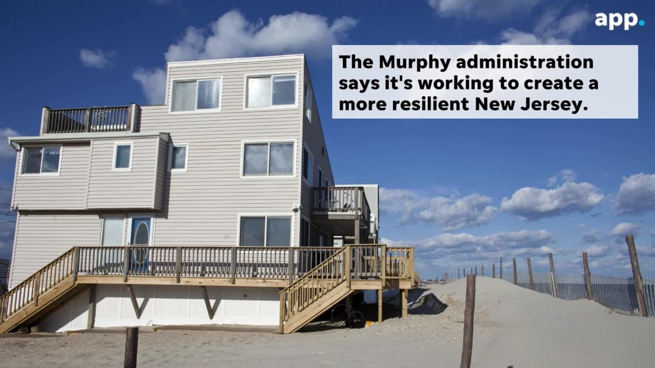 New Jersey homes at risk from rising seas