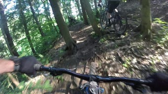 Cycle-CNY goes mountain biking at Shindagin Hollow State Forest.
