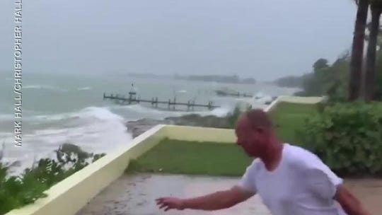 Dramatic videos show Hurricane Dorian's devastating force in the Abaco Islands, Bahamas