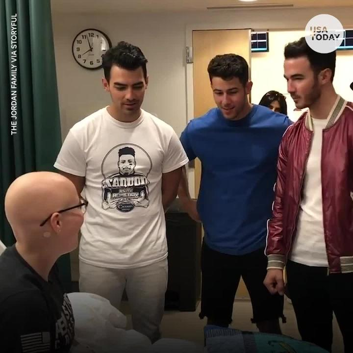 Diplo Instagram >> Jonas Brothers Surprise Fan Who Missed Concert For Chemo